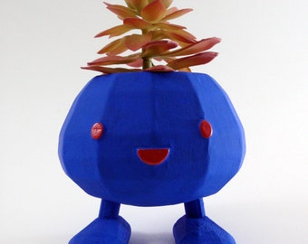 Indoor or Outdoor Painted Pokemon Oddish Planter