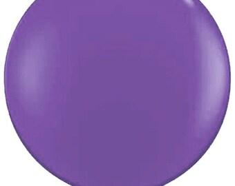 """36"""" balloon- Purple Violet"""