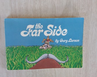 Vintage Far Side Gary Larson Autographed