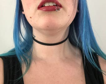 Black Choker Necklace   Suede Choker   Double Wrap Choker   Wrap Choker   Reversible Choker   Vegan Choker   Vegan Suede   Vegan Leather