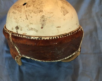 Antique Vintage 1940's football helmet