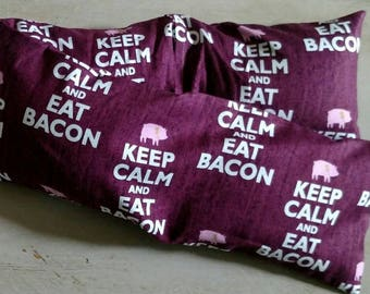 Eat Bacon Flaxseed Neck Wrap