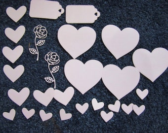 Pale Pink Love Pack, assorted die cuts