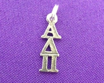 Alpha Delta Pi Greek Sorority Lavaliere, ADPi Charm, Officially Licensed
