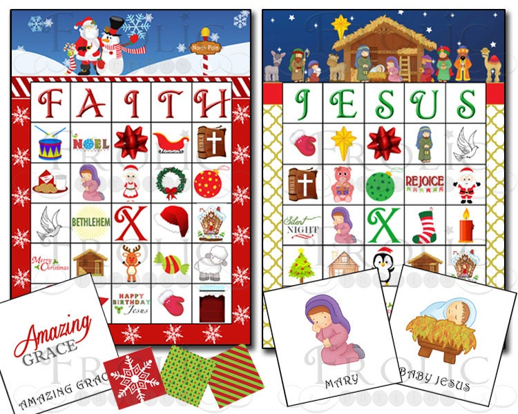christian christmas bingo - photo #20