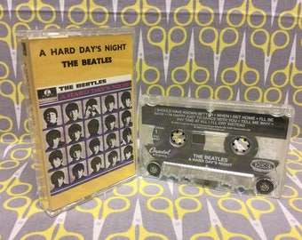 Hard Day's Night by The Beatles Cassette Tape rock Vintage
