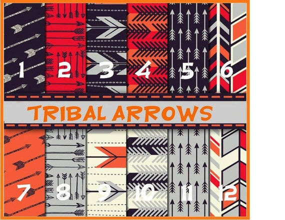 Tribal Arrows Prints Mexican Aztec Arrows Gray Adhesive Vinyl, HTV or Glitter HTV. Choice of 3 sizes. 6x6, 6x12 or 12x12
