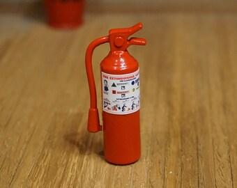 Dolls House Miniature Fire Extinguisher