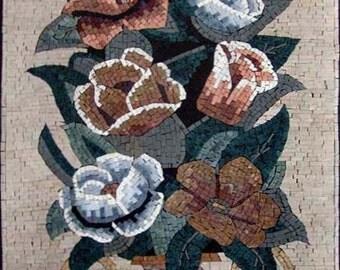 The Roses Antique Mosaic