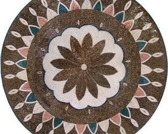 Flower Mosaic Wall Art- Evia