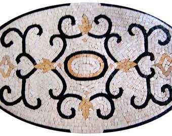 Oval Mosaic - Rasa