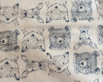 Woodland Critters Sketches from the Blue Moon Collection by Dear Stella Designs