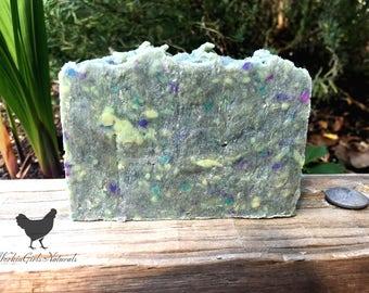 Rustic Scraps Bar Soap, Natural Soap