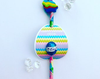 Easter egg pencil and egg holders