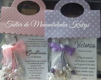 INVITACIONES BAUTIZO RECUERDOS