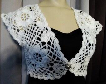 Wedding Bolero, Elegant Lace Bolero, Bridesmaid Shrug,Evening Wear,Ivory Lace Bolero