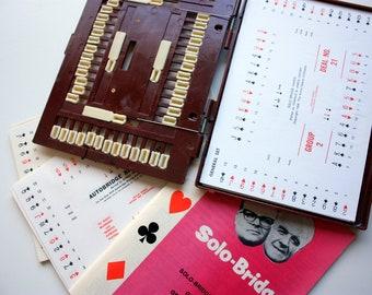 Solo Bridge / Vintage Bridge Game / Learn How to Play Bridge / Auto Bridge / Oswald & James Jacoby