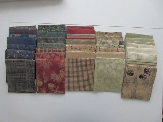 Moda 36 Fat Quarter Bundle Burst Of Autumn By Holly