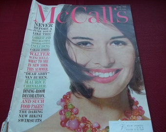McCalls Magazine June 1960, Never Before a June issue like this!