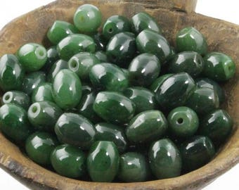 Canadian Jade Bead, 13x15mm Special (sold individually 3341)