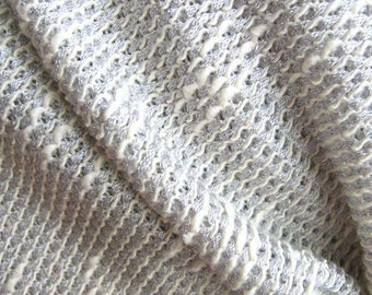 Sweater Knit Fabric - Summer Weight Made In Italy - Apparel Fabric By The Yard or Fraction Cut