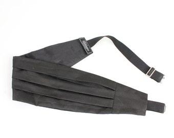 Black Tuxedo Belt Classic Tuxedo Waist Belt Formal Suit Belt