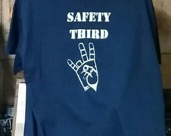 Safety Third T-Shirt Size Medium