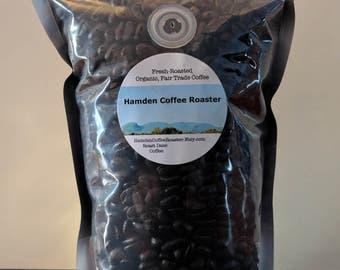Colombian - Whole Bean, Fresh Roasted, Organic, Fair Trade Arabica Coffee