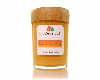 Summer Orange 8.5 oz Scented Soy Candle