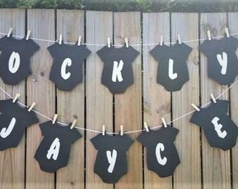Custom Baby Shower, Birthday Bunting, Banner, Garland PERFECT photo prop