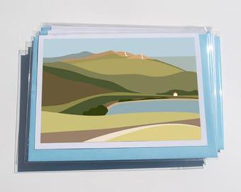 Pack of 6 Malvern Cards (2)