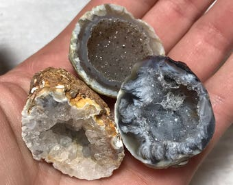 Occo Geodes, Cut and Polished Oco Geodes, Natural Occo Geodes, Occo Geodes from Brazil, Geodes, SM