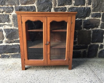 Antique Wooden Cabinet/Rustic Cabinet/Country