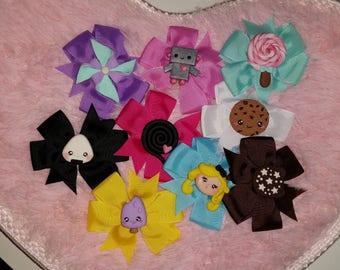 Kawaii hair clips
