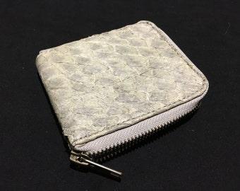 SALT WALLET - Unique - Leather - Wallet - White- littleKINGDesigns