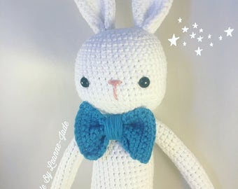 Easter bunny, crochet rabbit, amigurumi rabbit, gifts for boys, easter gift for boys, new baby gift, baby shower gift, soft plushie toy