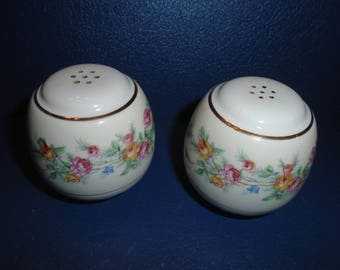 Salt and Pepper shakers.  China salt and pepper shakers. Replacement china.