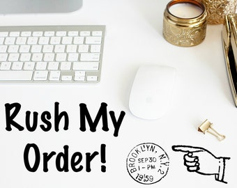 RUSH MY ORDER _ Priority Mail Upgrade (2-3 business days)