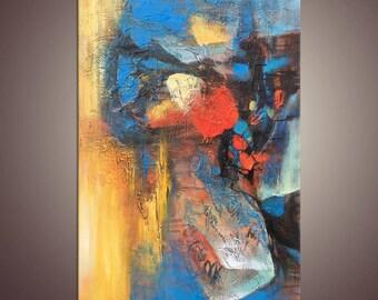 Painting Abstract, Canvas Art, Family Wall Decor, Original Abstract Art, Large Art, Modern Art, Abstract Canvas Art, Oil Painting