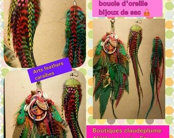 Set pendant, earring, jewelry bag