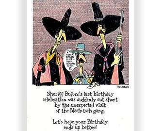 Hope Your Birthday Ends up Better - Funny Birthday Card - Single Birthday Card - 5x7 Birthday Greeting Card - 11021-1