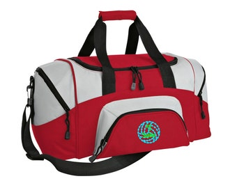 Volleyball Gym Bag - Personalized - Monogrammed - Embroidered - Sports Bag - Sports Gift - Volleyball Duffle Bag - BG990s