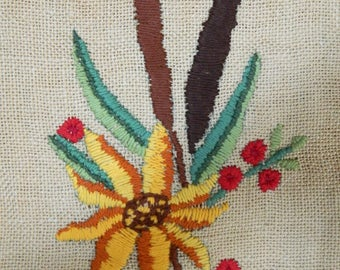 Sold! Booked already! Sorry!  old embroidered bag,