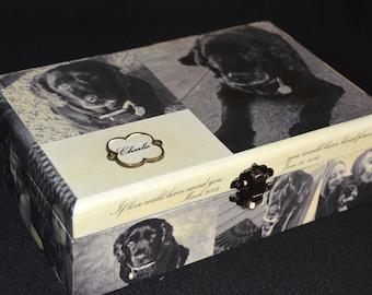 """Pet Memorial Box - 8.25"""" x 5.625"""" x 2.5"""""""