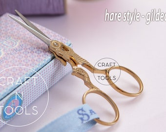 Embroidery Scissors Maison Sajou Hare Style in 2 models/Sajou Shears/Embroidery Shears/Chenille Scissors/Knitters Scissors/Beading Scissors