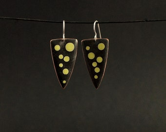 cloissone enamel earrings