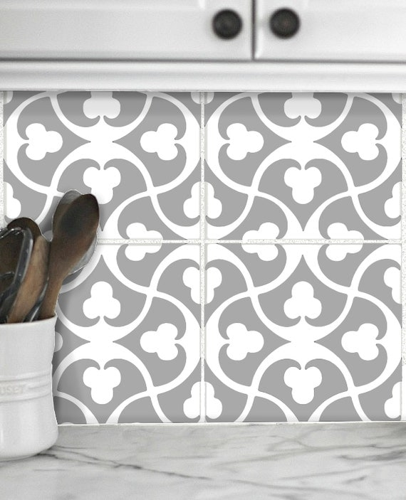 tile decals stickers for kitchen backsplash floor bath removable