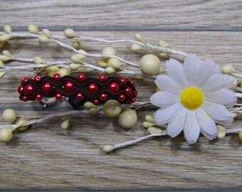 bracelet  / soutache technique / handmade (nr375)