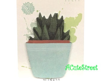 Succulents Post IT Notes Sticky Memo SM082732