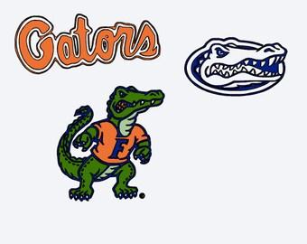 SVG, florida gators, university of florida, college football, cut file, printable file,  cricut, silhouette, instant download